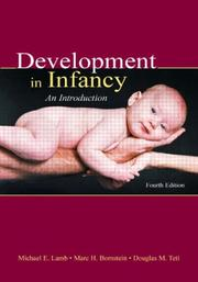 Cover of: Development in Infancy