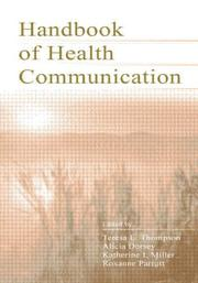 Cover of: Handbook of health communication