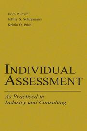 Cover of: Individual Assessment