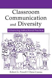 Cover of: Classroom Communication and Diversity