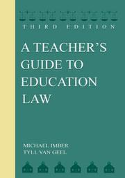 Cover of: A Teacher's Guide to Education Law