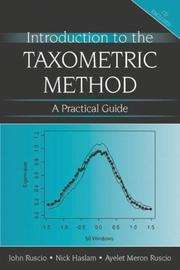 Cover of: Introduction to the Taxometric Method