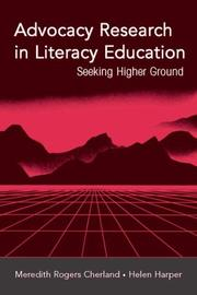 Cover of: Advocacy Research in Literacy Education