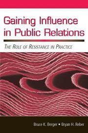 Cover of: Gaining Influence in Public Relations