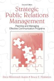 Cover of: Strategic Public Relations Management
