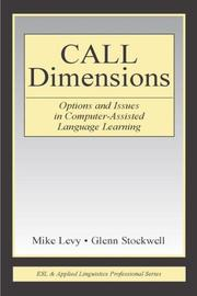 Cover of: Call Dimensions
