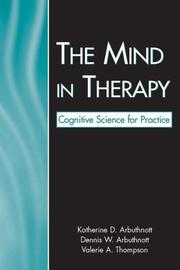 Cover of: The Mind in Therapy