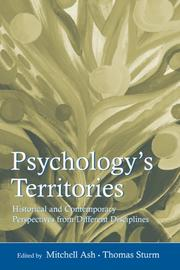 Cover of: Psychology's Territories
