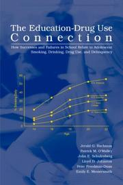 Cover of: The Education-Drug Use Connection