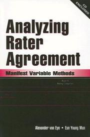 Cover of: Analyzing Rater Agreement
