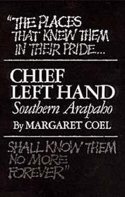 Cover of: Chief Left Hand: Southern Arapaho (Civilization of the American Indian Series)