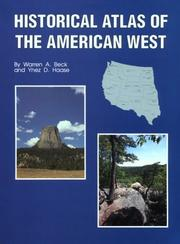 Cover of: Historical Atlas of the American West