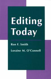 Cover of: Editing today