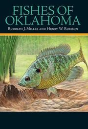 Cover of: Fishes of Oklahoma