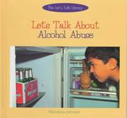 Cover of: Let's talk about alcohol abuse