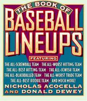 Cover of: The Book of Baseball Lineups