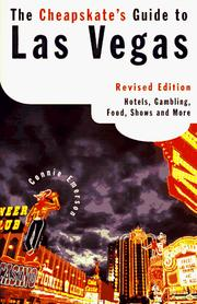 Cover of: The Cheapskate's Guide to Vegas Revised ed