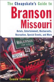 Cover of: The Cheapskate Guide To Branson, Missouri
