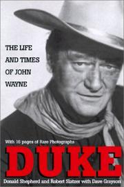 Cover of: Duke: Life and Times