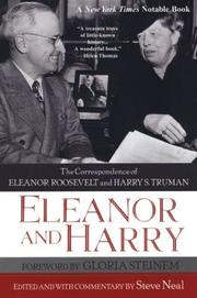 Cover of: Eleanor And Harry: The Correspondence of Eleanor Roosevelt and Harry S.