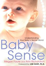 Cover of: Baby Sense