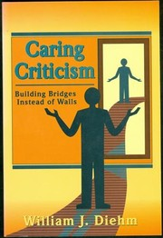 Cover of: Caring Criticism