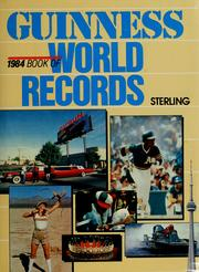 Cover of: Guinness Book of World Records 1984