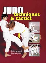 Cover of: Judo Techniques & Tactics