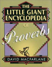 Cover of: The Little Giant Encyclopedia of Proverbs
