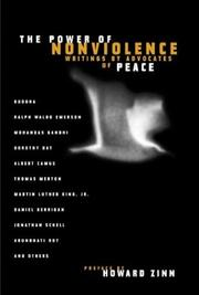 Cover of: The Power of Nonviolence: Writings by Advocates of Peace