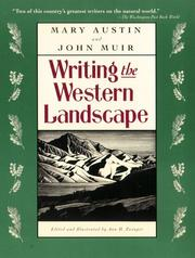 Cover of: Writing the Western Landscape (Concord Library Book)