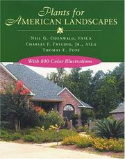 Cover of: Plants For American Landscapes
