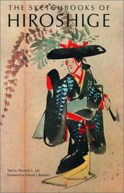 Cover of: The sketchbooks of Hiroshige