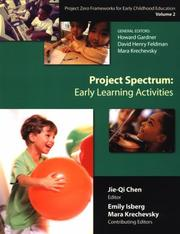 Cover of: Project Zero frameworks for early childhood education