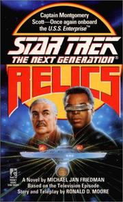 Cover of: Relics: STAR TREK, NEXT GENERATION - CASSETTE (Star Trek the Next Generation)