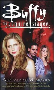 Cover of: Apocalypse Memories (Buffy the Vampire Slayer)