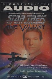 Cover of: Star Trek: The Next Generation: Valiant