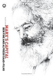 Cover of: Marx's Capital Fourth Edition