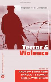 Cover of: Terror and violence