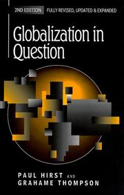 Cover of: Globalization in Question