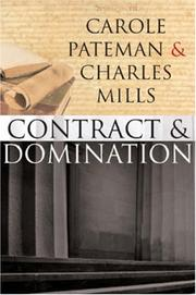 Cover of: Contract and Domination