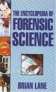 Cover of: Encyclopedia Forensic Science
