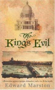 Cover of: The King's Evil (Restoration Mysteries #1)