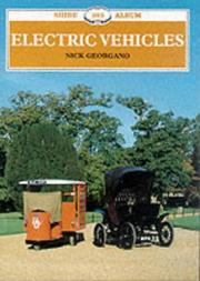 Cover of: Electric Vehicles (Shire Albums)