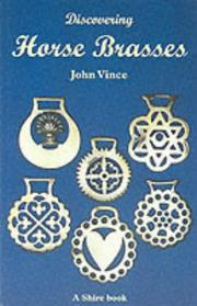 Cover of: Discovering Horse Brasses (Shire Discovering Books)