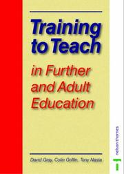 Cover of: Training to Teach in Further and Adult Education (Teacher Training)