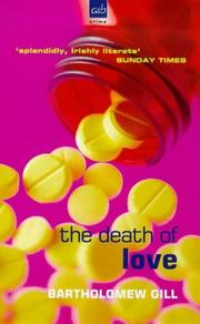 Cover of: The Death of Love (A Peter McGarr Mystery)