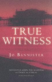 Cover of: True Witness (A&B Crime)