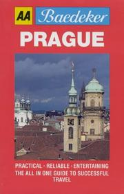 Cover of: Baedeker's Prague (AA Baedeker's)