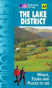 Cover of: Leisure Guide the Lake District (Aa Leisure Guides)